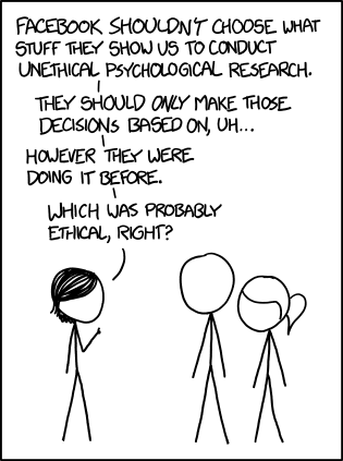 A recent comic from XKCD illustrates the dilema